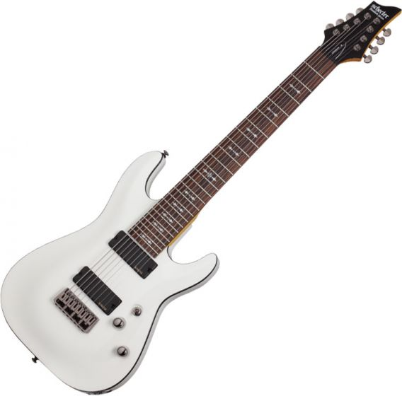 Schecter Omen-8 Electric Guitar in Vintage White Finish SCHECTER2073