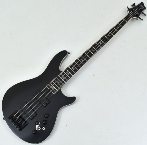 Schecter SLS ELITE-4 Evil Twin Electric Bass in Satin Black SCHECTER1392