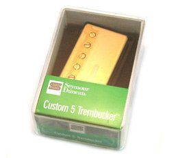 Seymour Duncan TB-14 Trembucker Custom 5 Pickup Gold Cover 11103-84-Gc