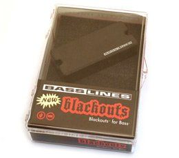 Seymour Duncan ASB-BO-4 Blackouts For Bass Pickup 11407-08