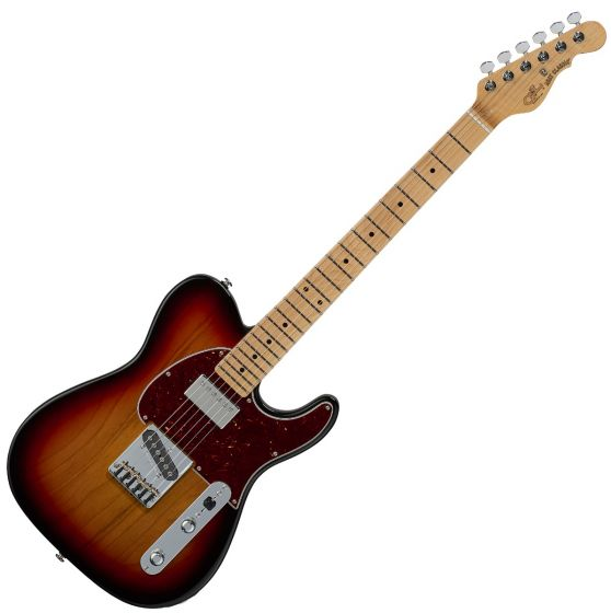 G&L ASAT Classic Bluesboy USA Fullerton Deluxe in 3 Tone Sunburst sku number FD-ASTCB-3TS-MP