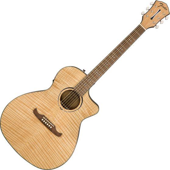 Fender FA-345CE Auditorium Acoustic Electric Guitar in Natural 0971343021