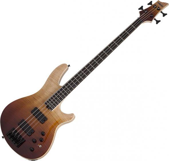 Schecter SLS ELITE-4 Electric Bass in Antique Fade Burst sku number SCHECTER1390