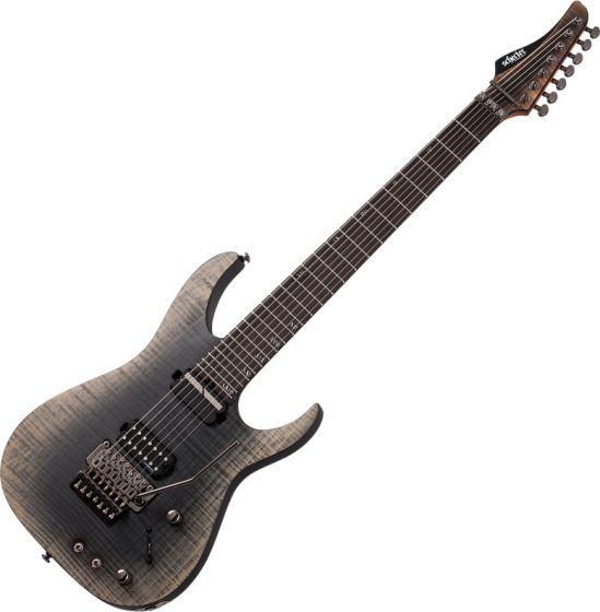 Schecter Banshee Mach-7 FR S 7 String Electric Guitar Fallout Burst SCHECTER1413