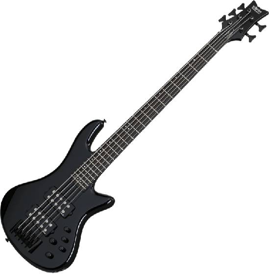 Schecter Stiletto Stage-5 Electric Bass Gloss Black SCHECTER2483