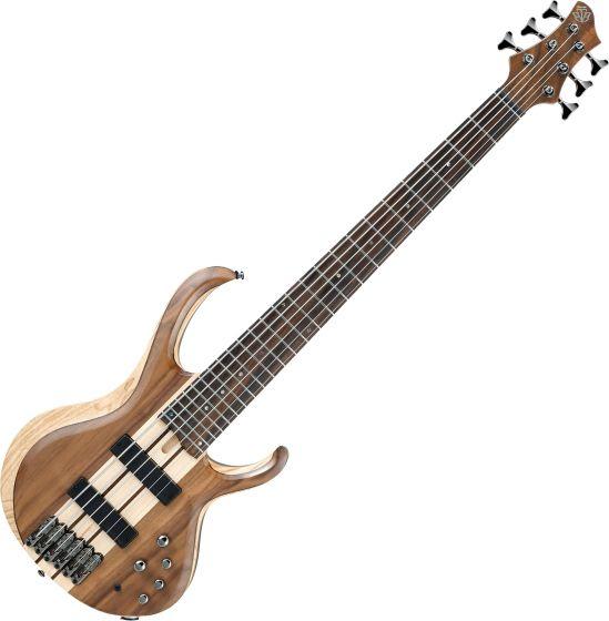 Ibanez BTB Standard BTB746 6 String Electric Bass Natural Low Gloss BTB746NTL