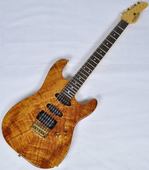 Schecter California Custom Elite Koa Top USA Custom Shop Electric Guitar SCHECTERUCCEKNATGGH