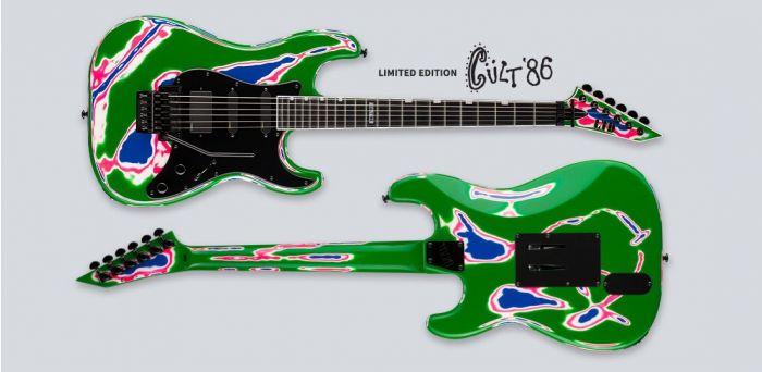 ESP LTD Cult 86 Living Color Guitar in Swirl Finish LCULT86