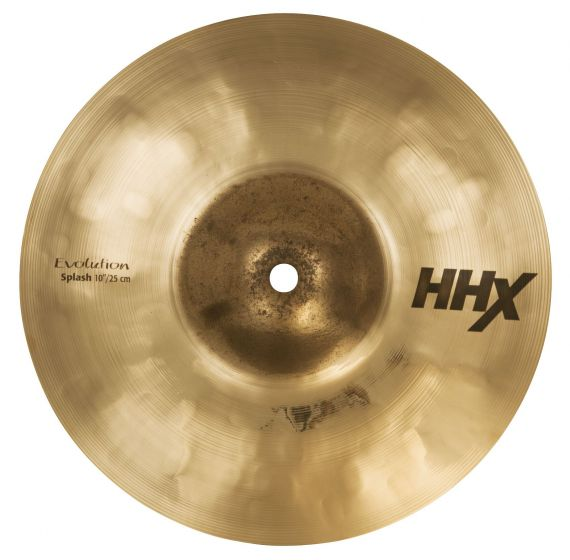 "Sabian 10"" HHX Evolution Splash Brilliant Finish 11005XEB"