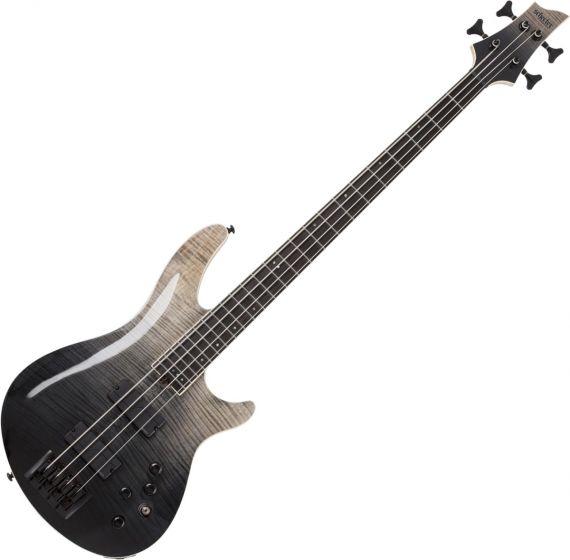 Schecter SLS ELITE-4 Electric Bass in Black Fade Burst sku number SCHECTER1391