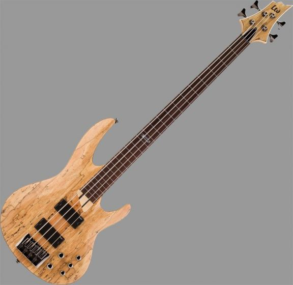 ESP LTD B-204SM Fretless Bass in Natural Stain Finish sku number LB204SMFLNS