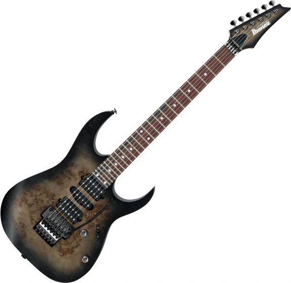 Ibanez RG Prestige RG657PB Electric Guitar Anvil Gray Burst Flat RG657PBAGF