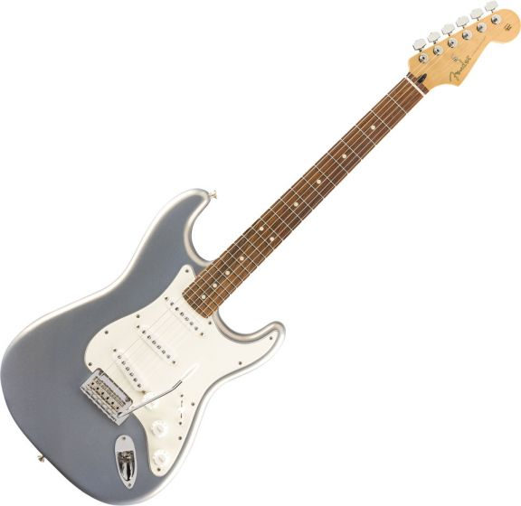 Fender Player Stratocaster Electric Guitar Silver 144503581