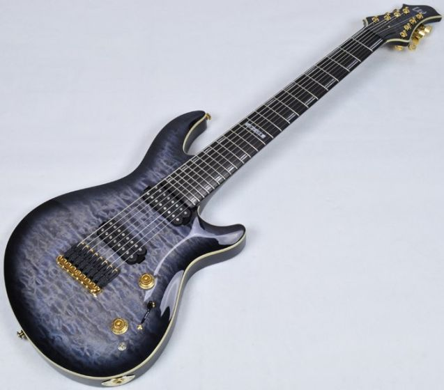 ESP LTD JR-608 QM 2015 Javier Reyes Signature Electric Guitar in Faded B Stock sku number LJR608QMFBSB.B