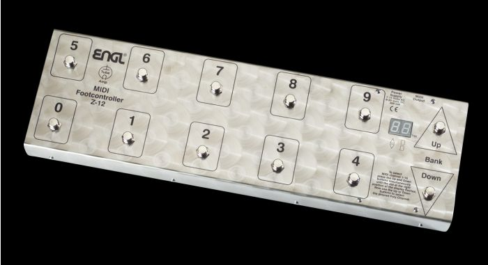 ENGL Amps Z-12 MIDI FOOT CONTROLLER sku number Z12