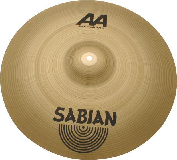"Sabian 19"" AA Rock Crash 21909"