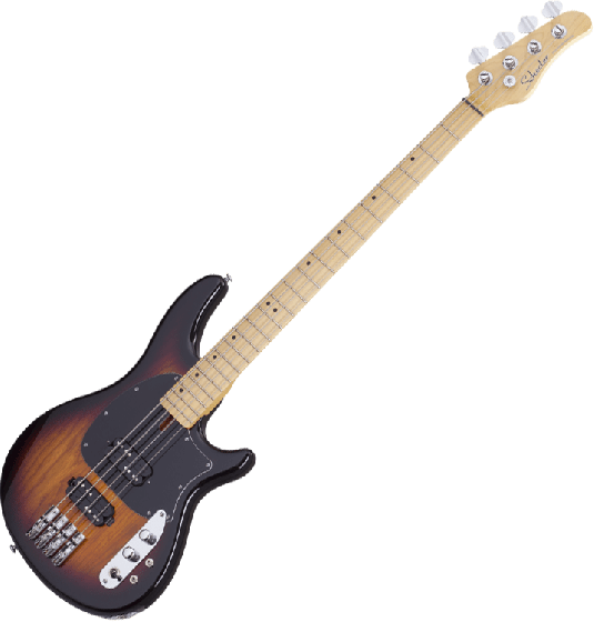 Schecter CV-4 Electric Bass 3-Tone Sunburst SCHECTER2491