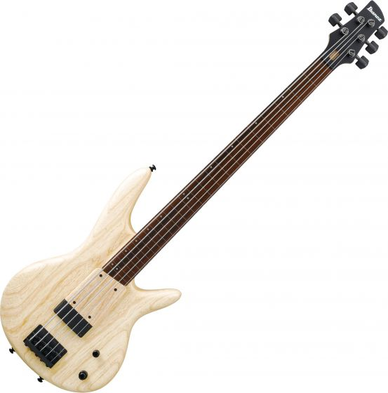 Ibanez Gary Willis Signature GWB1005 5 String Electric Bass Natural Flat GWB1005NTF