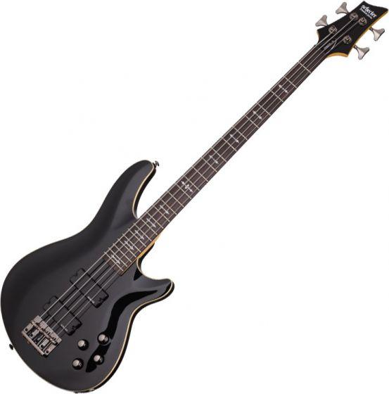 Schecter Omen-4 Electric Bass in Gloss Black Finish SCHECTER2090