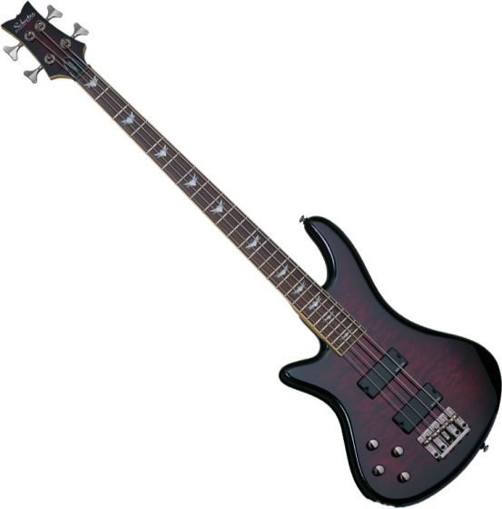 Schecter Stiletto Extreme-4 Left-Handed Electric Bass Black Cherry SCHECTER2507