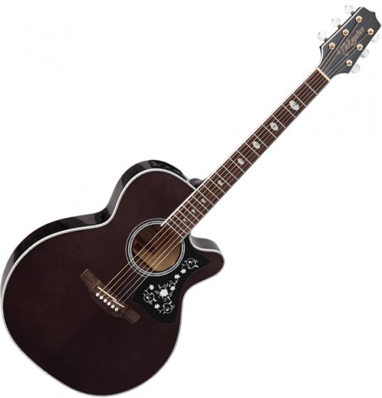 Takamine GN75CE NEX Acoustic Electric Guitar Transparent Black TAKGN75CETBK
