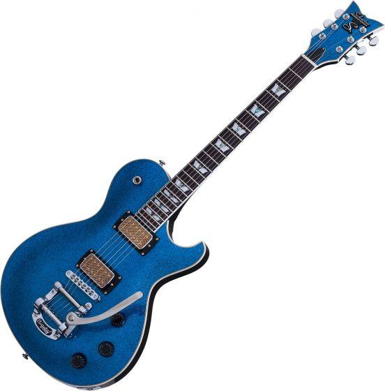 Schecter Solo-6B Electric Guitar Blue Sparkle SCHECTER175
