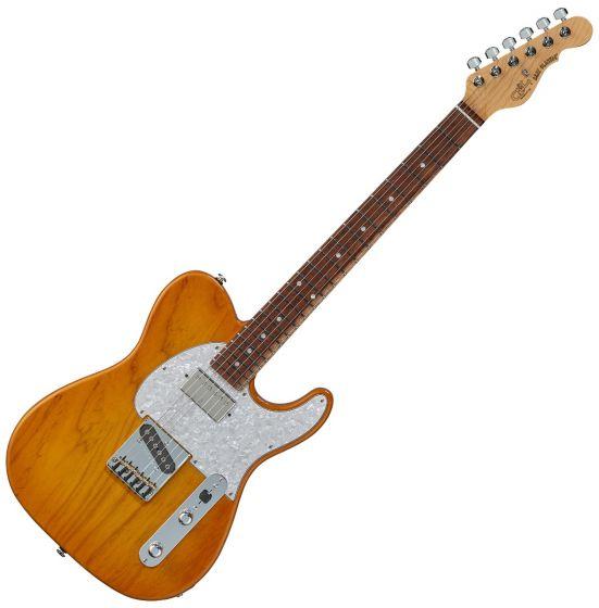G&L ASAT Classic Bluesboy USA Fullerton Deluxe in Honey Burst sku number FD-ASTCB-HNB-CR
