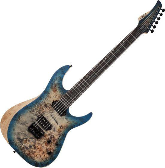 Schecter Reaper-6 Electric Guitar in Satin Sky Burst sku number SCHECTER1501