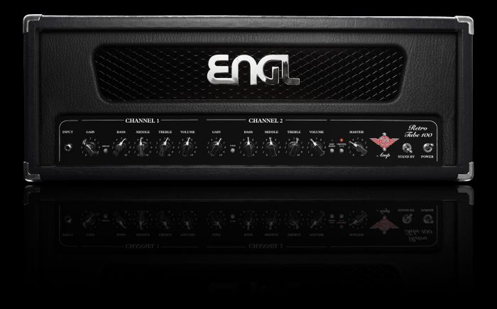 ENGL Amps RETRO E765 100 Watt HEAD (incl. black, red, & white frames) sku number E765