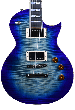 ESP USA Eclipse Limited Edition Electric Guitar in Violet Shadow EUSECFMVSHS