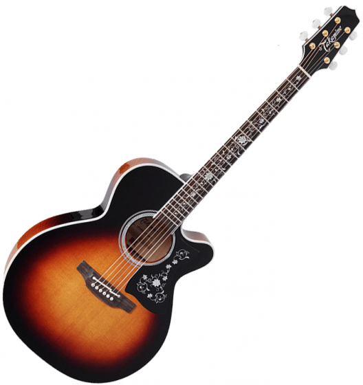 Takamine EF450C-TT NEX Acoustic Guitar Brown Sunburst B-Stock TAKEF450CTTBSB.B