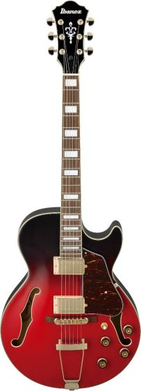 Ibanez AG75G SCG AG Artcore Scarlet Gradation Semi Hollow Body Electric Guitar sku number AG75GSCG