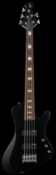 ESP LTD STREAM-205 Black Satin 5 String Bass Guitar LSTREAM205BLKS