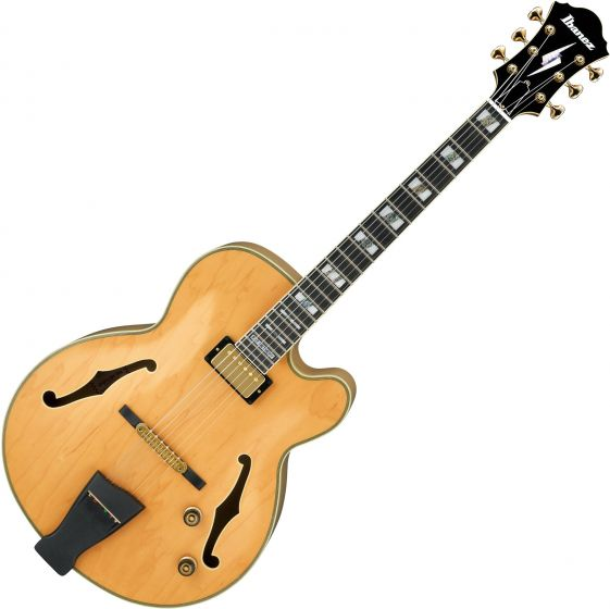 Ibanez Pat Metheny Signature PM200 Hollow Body Electric Guitar Natural PM200NT