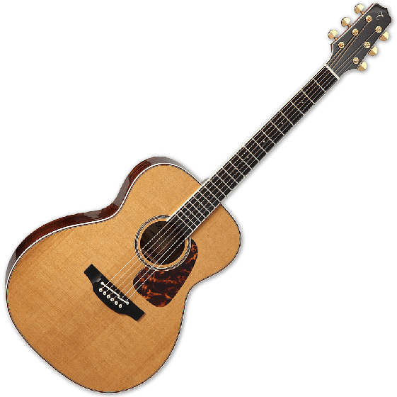 Takamine CP7MO-TT Pro Orchestra Model Thermal Top Acoustic Guitar in Natural TAKCP7MOTT