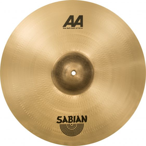 "Sabian 20"" AA Raw Bell Crash 2200772"