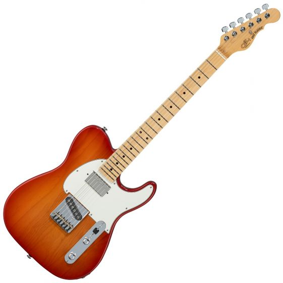 G&L ASAT Classic Bluesboy USA Fullerton Deluxe in Cherry Burst sku number FD-ASTCB-CHY-MP