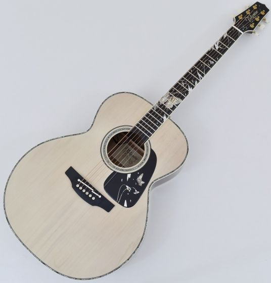 Takamine LTD 2018 Gifu-Cho NEX Acoustic Guitar Glossy Lift-Out Antique White TAKLTD2018GIFUCHO