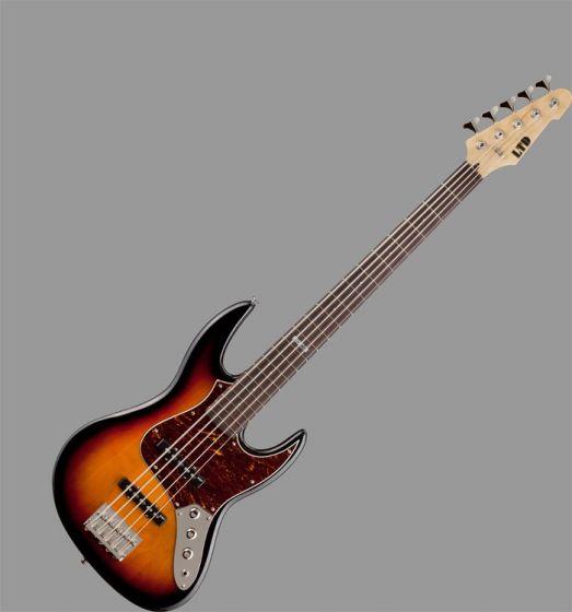 ESP LTD J-205 Bass Guitar in 3 Toneburst Finish LJ2053TB