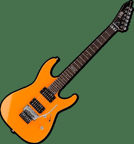 ESP LTD M-50 Electric Guitar in Neon Orange Finish LM50FRNOR