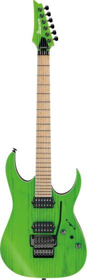 Ibanez RGR5220M TFG RG Prestige 6 String Transparent Fluorescent Green Electric Guitar w/Case sku number RGR5220MTFG