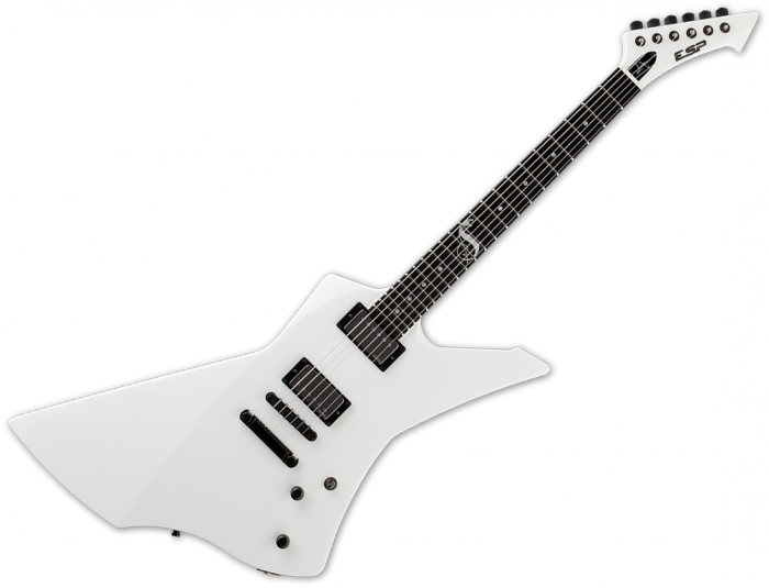 ESP James Hetfield Snakebyte Signature Electric Guitar Snow White ESNAKEBYTESW