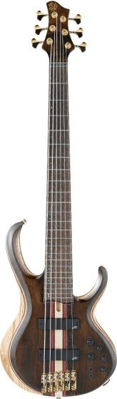 Ibanez BTB1826 Premium 6 String Natural Low Gloss Bass Guitar sku number BTB1826NTL