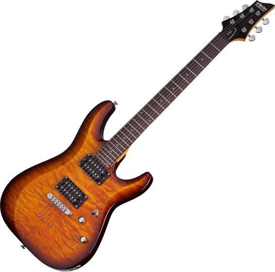 Schecter C-6 Plus Electric Guitar Vintage Sunburst SCHECTER444