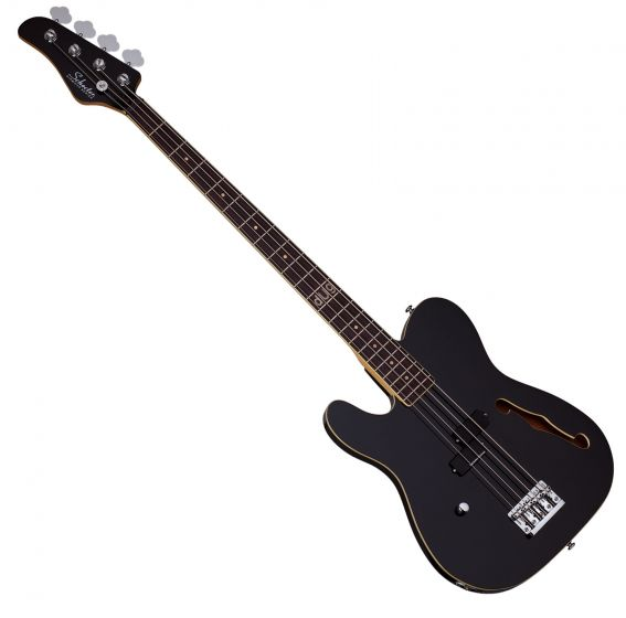 Schecter Signature dUg Pinnick Baron-H Left-Handed Electric Bass Gloss Black SCHECTER263