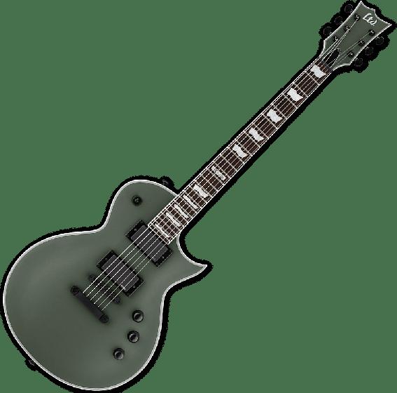 ESP LTD EC-401 Electric Guitar in Military Green Satin LEC401MGS