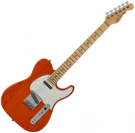 G&L ASAT Classic USA Fullerton Deluxe in Clear Orange sku number FD-ASTCL-ORG-MP