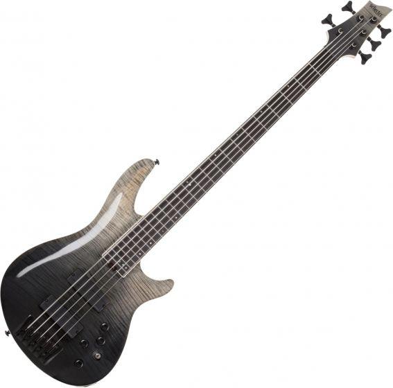 Schecter SLS ELITE-5 Electric Bass in Black Fade Burst sku number SCHECTER1394
