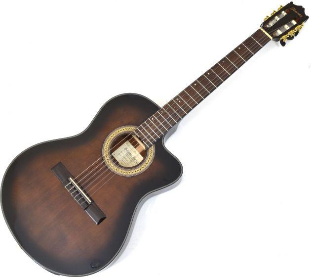 Ibanez GA35TCE Thinline Classical Acoustic Electric Guitar Dark Violin Sunburst B-Stock 1408 GA35TCEDVS.B 1408