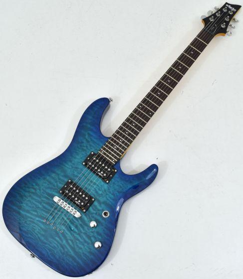 Schecter C-6 Plus Electric Guitar Ocean Blue Burst SCHECTER443